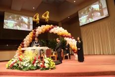 교회 창립 44주년 기념 임직식